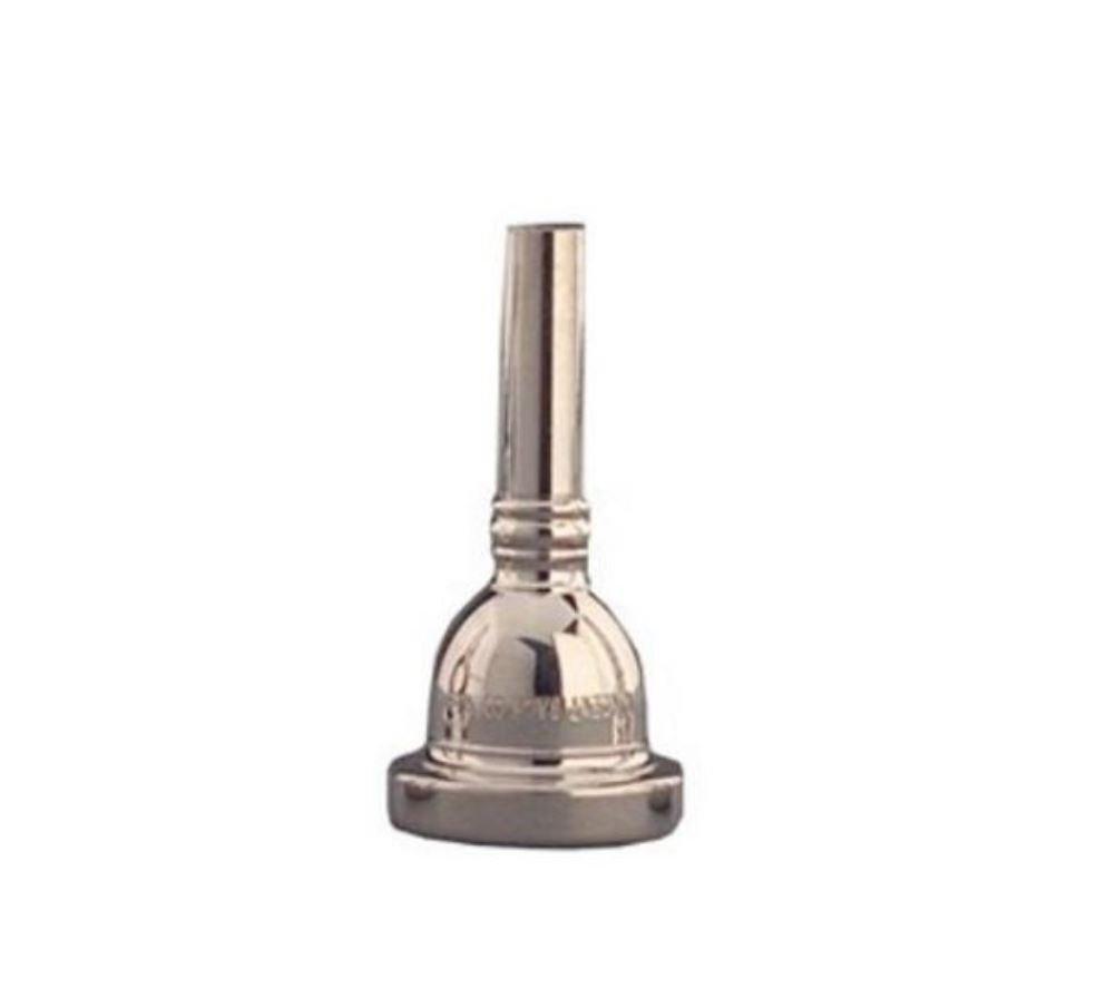 Bach 33512 Tuba/Sousaphone Mouthpiece, Silver Plated, 12 Cup Medium