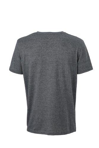 James & Nicholson T-Shirt Mens Heather - Camiseta / Camisa deportivas Negro