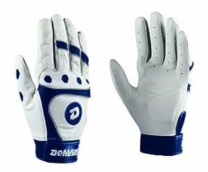 DeMarini Fastpitch CF3 Adult Batting Gloves (Navy, X-Large)