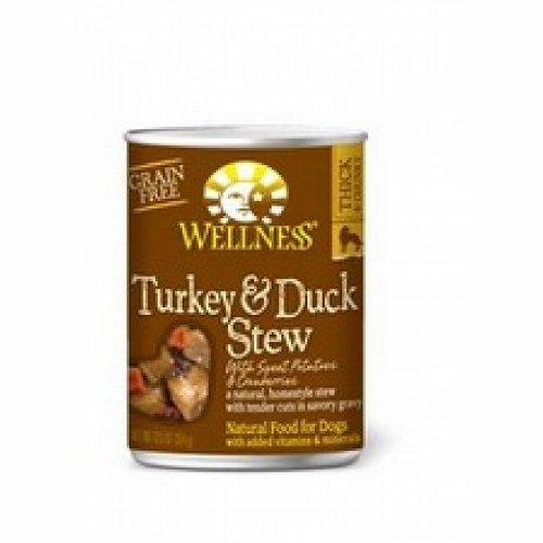 Wellness Turkey & Duck Stew with Sweet Potatoes & Cranberries (12x12.5 Oz)