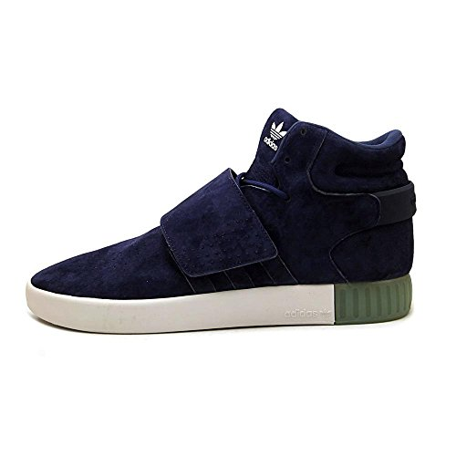 adidas Originals Men's Tubular Invader Strap Shoes Dark Blue / Dark Blue-aqua cheap deals sale Cheapest 8nCuZuUG
