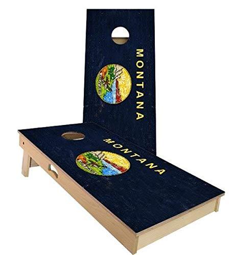 (Montana Flag Cornhole Boards, 2x3 (24