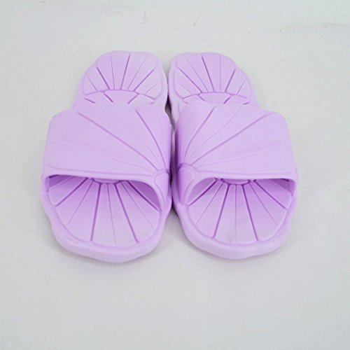 Sandal Slipper Water Shoes Proof Women Men Indoor Purple Skid Shower Rebecca Slippers amp; Rubber Sole Soft Bathroom xwZqI6nqH