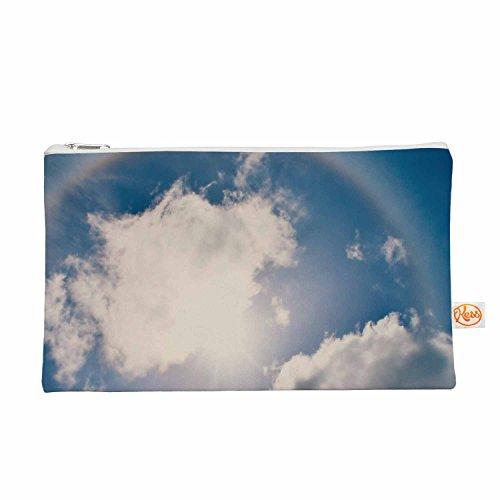 Kess eigene 12,5x 21,6cm Robin Dickinson Halo Alles Tasche–Blau/Weiß