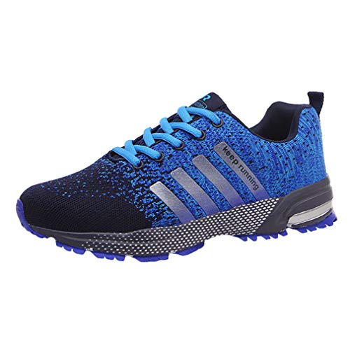 Deportivas Fitness Shock Sneakers Shoes Hombre Outdoor 46 Deporte Baloncesto Azul 38 Zapatillas Absorber Running Running q8w1gSB
