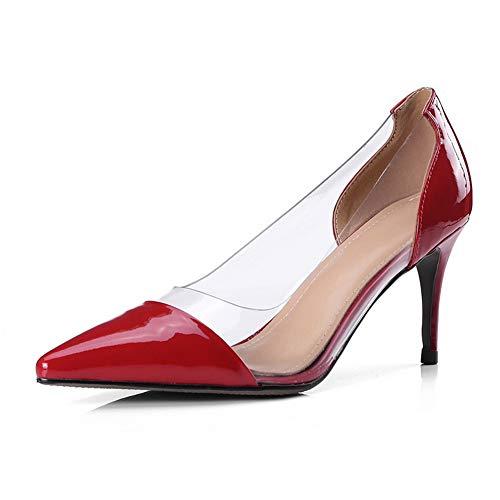 SDC06082 Compensées Red AdeeSu Sandales Femme 0ZRdZ6wq