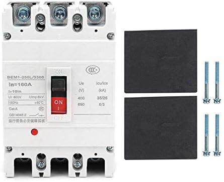 ST-ST サーキットブレーカー、すべての銅の接触と3P漏れ保護回路ブレーカ800Vエアスイッチサーキットブレーカ(160A) 遮断器