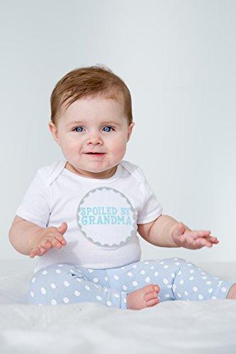 Pearhead I Love Grandma Keepsake Photo Frame and Baby Belly Sticker Gift Set, Gray by Pearhead (Image #2)
