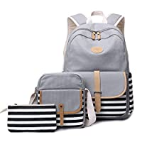FLYMEI Backpack for Teen Girl, Lightweight Bookpack for School, 15 Inch Laptop Bag, Travel Casual Daypack Kids Backpacks