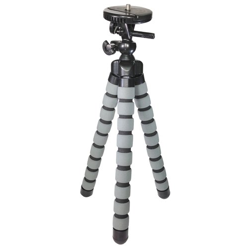 Canon PowerShot G9X Digital Camera Tripod Flexible Tripod - for Digital Cameras and Camcorders - Approx Height 13 inches