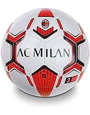 Mondo Toys voetbal A.C. Milan - maat 5 - 350 g - zwart/lichtblauw - 13632
