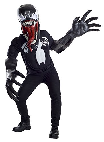 Venom Costumes For Men (Marvel Venom Creature Reacher Deluxe Oversized Mask and Costume)