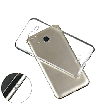 NAV Silicon Back Cover for Samsung Galaxy J7 2015 Transparent Cases   Covers