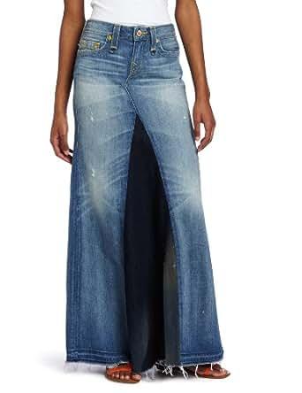 True Religion Women's Dakota Love And Haight Floor Length Skirt, Arlington, 24