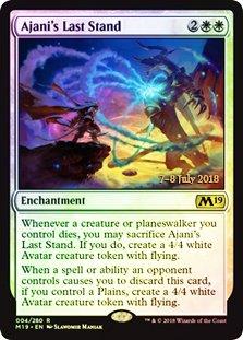 - Magic: The Gathering - Ajani's Last Stand - Foil - Prerelease Promos