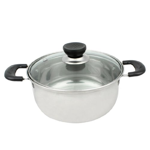 Boiling Pan (Stainless Steel Boiling Milk Pan Kitchenware 18cm)