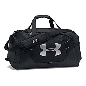Under Armour Undeniable 3.0 Medium Duffle Bag, Black/Black, One Size