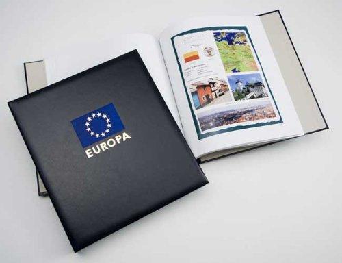 DAVO 3330 Luxus Briefmarken-Album Europäische Hauptstädte 2012–2012