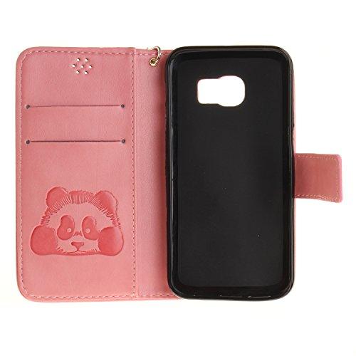 Silikonsoftshell PU Hülle für Galaxy S6 Edge (5,1 Zoll) Tasche Schutz Hülle Case Cover Etui Strass Schutz schutzhülle Bumper Schale Silicone case