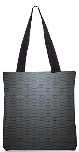 """Snoogg Graues Licht Design-Muster-Einkaufstasche 13,5 X 15 In """"Shopping-Dienstprogramm Tragetasche Aus Polyester Canvas"""