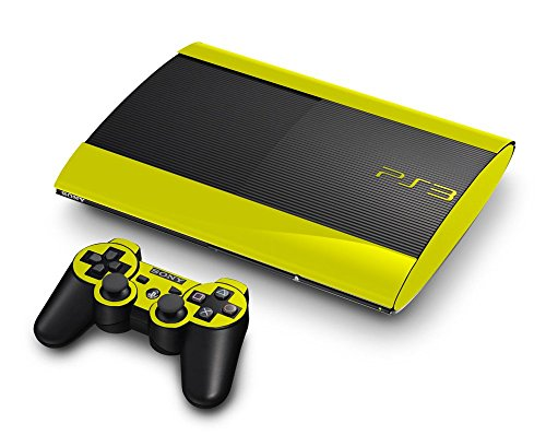 Sony PlayStation 3 Super Slim Skin (3rd Gen) - NEW - LEMON ...