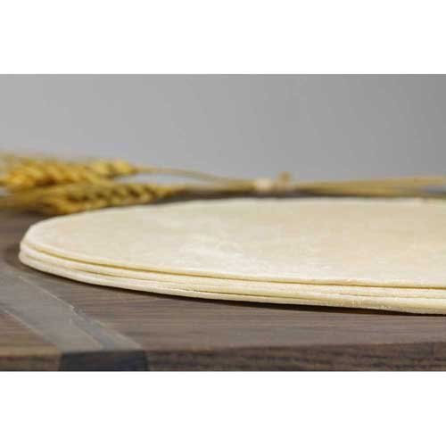 Ultra Thin Crust Original Round Par Baked Pizza Shell Flatbread, 10 inch -- 50 per (Pizza Shells)