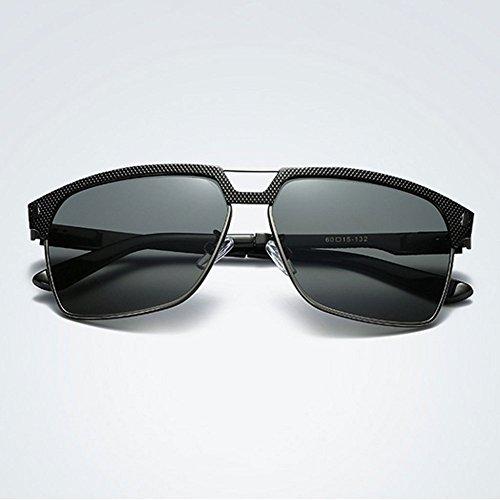 Venda GUOHONG Gafas Gafas Clásico Ciclismo Pescar Primavera De Grey Los Black Moda Sol Protección Black Conducción De De Ojos Gafas Sol Gafas De Hombres Polarizadas grey Piernas UV De Casual De v1rqHv