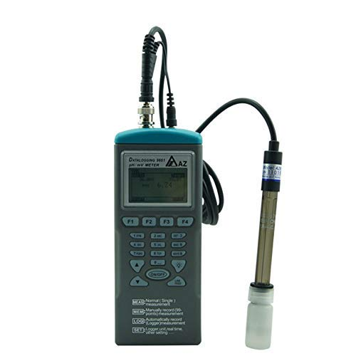 Digital Water Quality Tester,Portable PH mV Data Logger with PH mV Temperature Display for Liquid