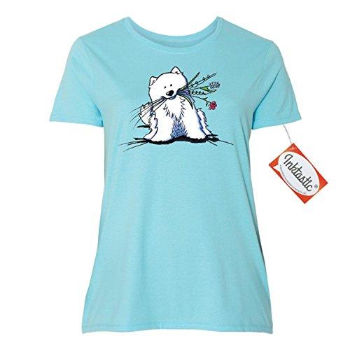 inktastic-eskimo-cutie-pie-womens-plus-size-t-shirt-by-kiniart-5-30-32-blue-horizon