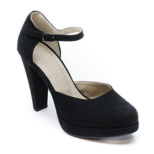 Tacco Nero Vegano Sandalo Donna Alto Da Erica Nae Col q8xYppw