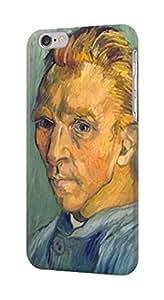 S0211 Van Gogh Portrait de Artiste sans Barbe Case Cover for IPHONE 5C