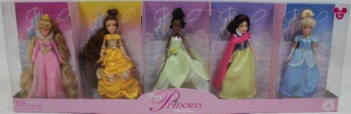 Disney Princess Doll Set * Sleeping Beauty * Belle * Tiana * Snow White * Cinderella * - Disney Parks Exclusive & Limited Availability