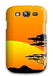 Hot Fashion RvjGFdm3770gJmRz Design Case Cover For Galaxy S3 Protective Case (safari Sunsets)