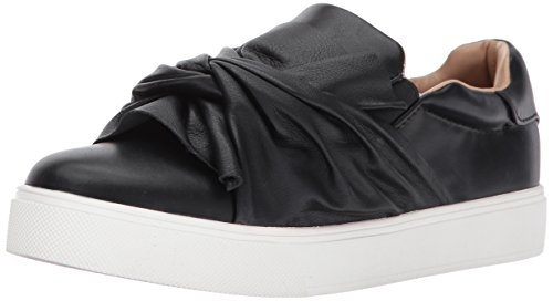 ALDO Women's Cadassa Fashion Sneaker, Black Synthetic, 7 B US