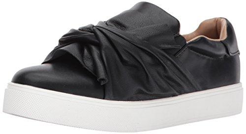 ALDO Women's Cadassa Fashion Sneaker, Black Synthetic, 6 B US