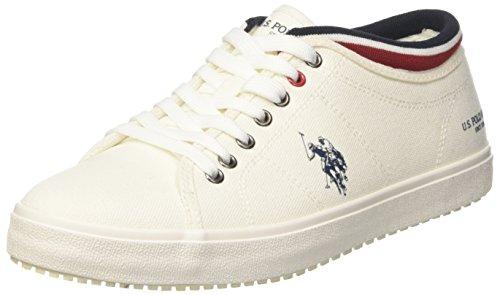 Stewart1 Baskets S Whi ASSN Homme Bleu Textile Blanc U White POLO 1qwRSX6
