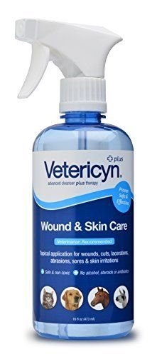 Vetericyn Plus All Animal Wound & Skin Care 16Oz Pet Supplies by Vetericyn
