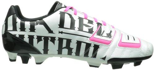Borsone Da Calcio Puma Uomo Powercat 3 Grafica Fg Metallico Bianco / Nero / Rosa Fluorescente