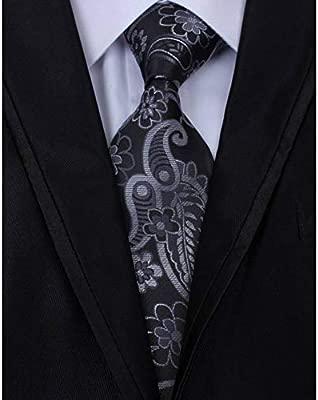 WOXHY Corbata Nueva Marca Hombre Moda 8 CM 100% Corbatas de Seda ...