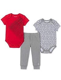 Calvin Klein Conjunto de 3 Piezas de Body y pantalón para bebé