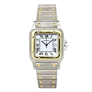 Cartier Santos galbee Automatic-Self-Wind Mens Reloj 1566 (Certificado) de Segunda Mano: Cartier: Amazon.es: Relojes