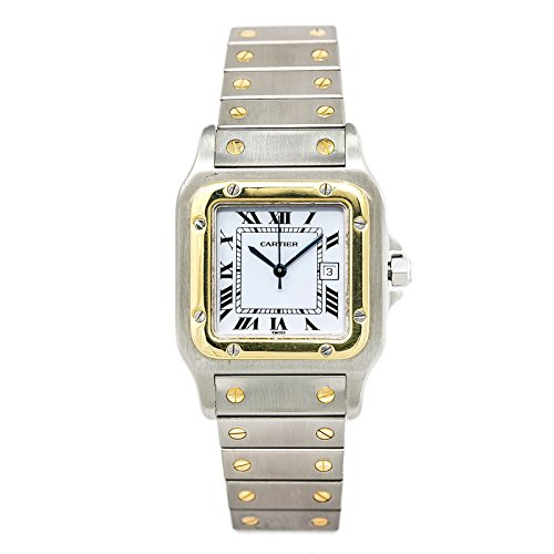 Cartier-Santos-Galbee-automatic-self-wind-mens-Watch-1566-Certified-Pre-owned