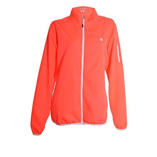 Champion Ladies Lightweight Jacket - Orange, Size Large