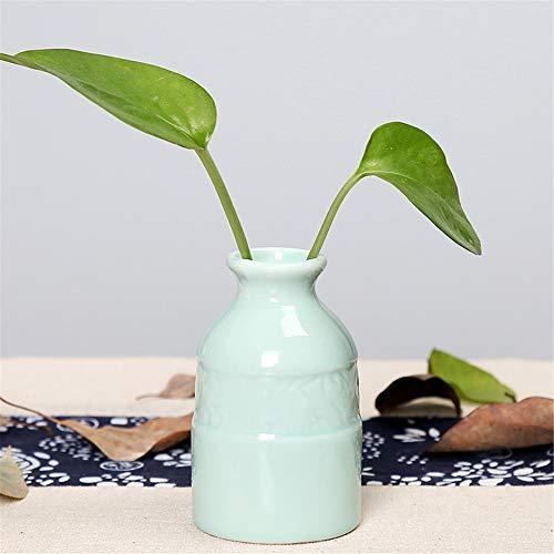 Gotian Plant Ceramic Vase Modern European Profile Companion Diamond Porcelain Flowerpot Room Study Corridor Wedding Home Party Decor (K)