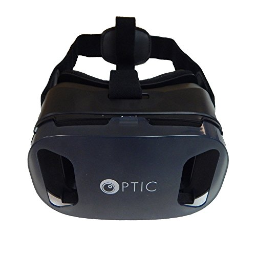 OPTIC 3D VR Glasses Headset (Black)