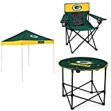 Green Bay Packers Tent, Table and Chair Package