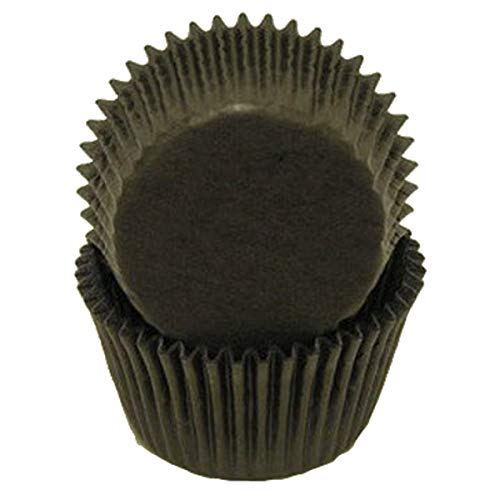 Black Glassine Greaseproof Cupcake Muffin - 500 Count ()