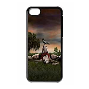 Vampire Diaries SANDY5037135 Phone Back Case Customized Art Print Design Hard Shell Protection Iphone 5C