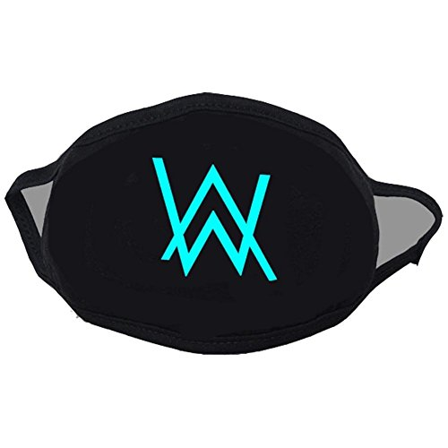XCOSER Faded Band Cosplay Alan Walker Luminous Face Mask]()