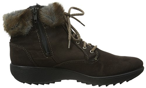 Shaft Lined Brown Women's 122 Boots Short Moro marone Warm Nadja Romika qOwA4YO